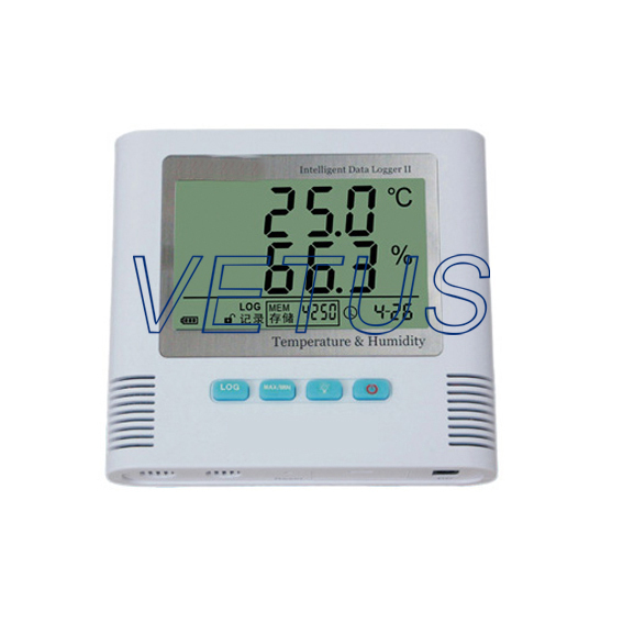 S520-TH Temperature and Humidity Data Logger LCD display shows temperature and humidity readings<br><br>Aliexpress