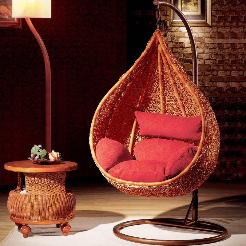 wicker indoor swing pictures to pin on pinterest