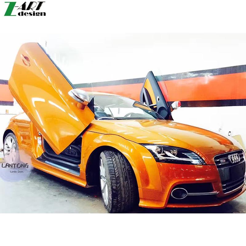 High quality TT TTS Lambo door hinges for Audi TT TTS Special scissors door kit Vertical Door Free DHL ship(China (Mainland))