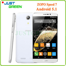 "Original ZOPO Speed 7 Android 5.1 Cell Phone 5"" 1920×1080 MT6753 Octa Core 1.5GHz 3GB RAM 16GB ROM 13MP Camera Dual SIM OTG GPS"
