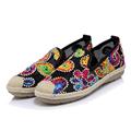 Elegant Embroider Loafers Shoes Women Slipony Casual Lace Fisherman Shoes Woman Fashion Flat Platform Heel Girls