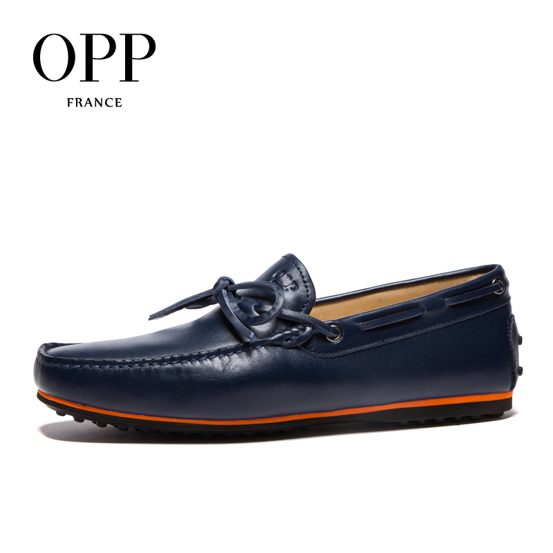 Opp Moccasins fashion male casual shoes 2016 spring fashion foot wrapping sailing shoes mens genuine leather<br><br>Aliexpress