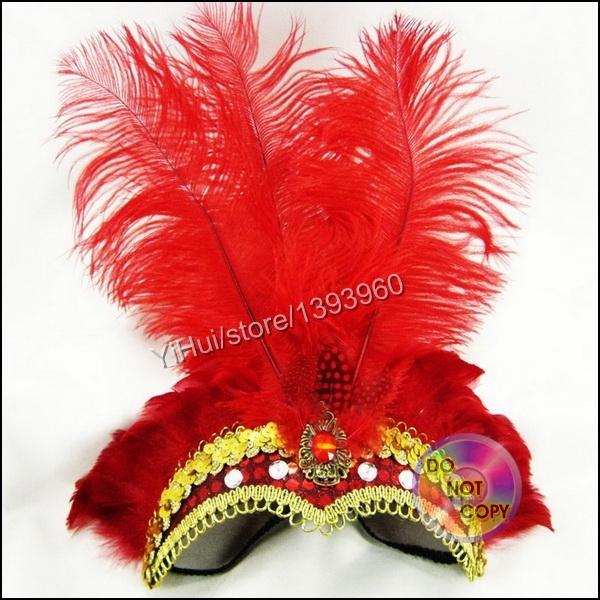 Bohemian Hippie Feather Leaf Fringe Headdress Hair Peacock Headpieces Headband(China (Mainland))