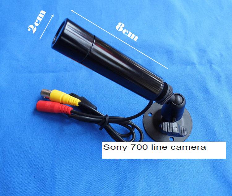 New Sony 700 line HD surveillance camera mini camera surveillance camera Waterproof Small Bullet Mini CCTV Camera 3.6MM Lens