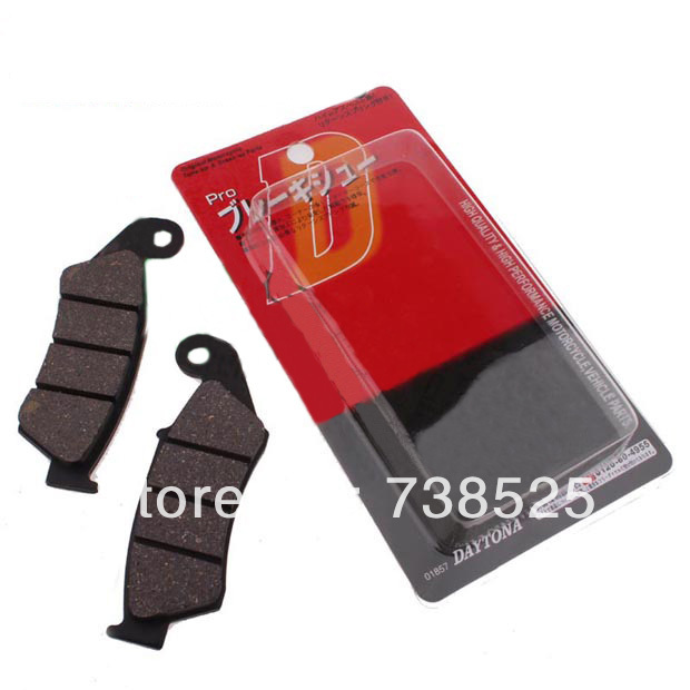 18 motorcycle accessories modified AX-1 250 brake pads front - Shanghai Gulong Motorcycle Co. Ltd. store