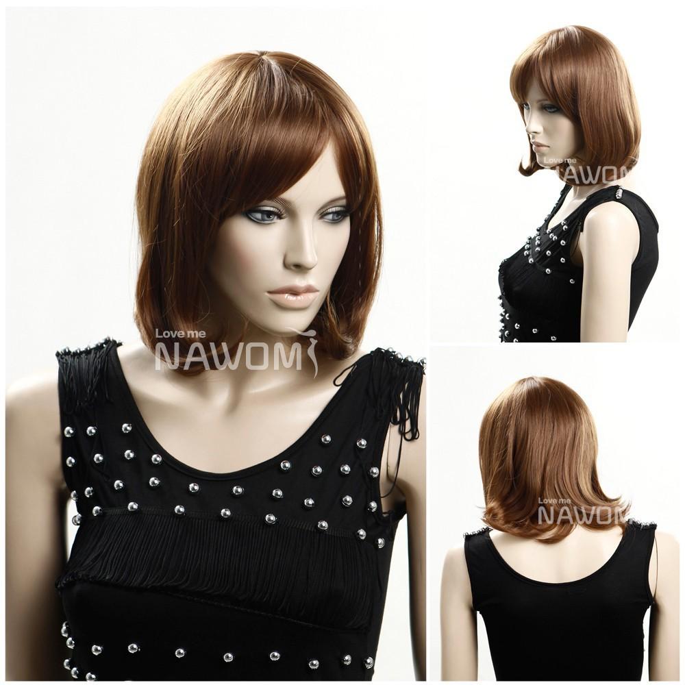 Nawomi brand Pretty Girl's Wigs Rinka Hair Wavy Cute Hair Fashion Haircuts 14.6 Inches EM-Wig3261(China (Mainland))