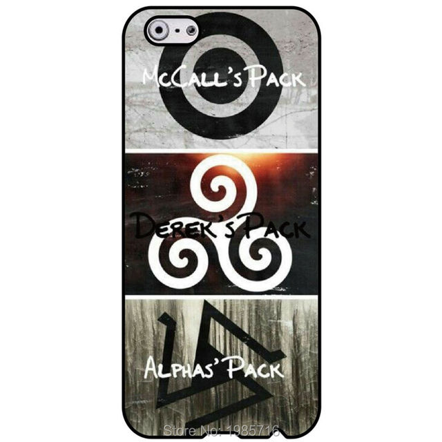 scott mccall teen wolf pack symbole mode housse for iphone 4 4s 5 5s 5c 6 6s 6 plus for. Black Bedroom Furniture Sets. Home Design Ideas