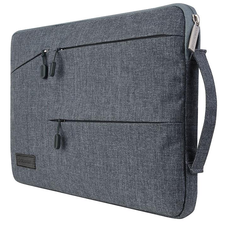 Laptop Handbag Briefcase Handbag Satchel Bag Tablet Bussiness Carrying Sleeve Case Protector for Lady Men Laptop Bag 11//13//14//15.6 Inch Laptop Messenger Bag Color : Dark Gray, Size : 11