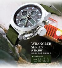 2015 relojes hombres marca de lujo AMST buceo LED relojes deporte militar reloj genuino reloj de cuarzo hombres relojes de pulsera relogio masculino