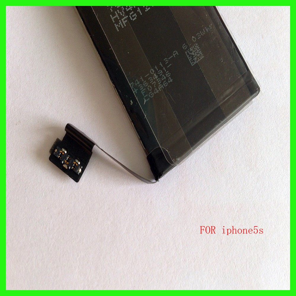 1560mAh Li-ion Battery for iPhone 5S Phone Battery Rechargeable Replacement Li Polymer Internal Batteries High Quality