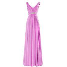 Royal Blue długie suknie wieczorowe 2018 nowe wzornictwo eleganckie tanie wesele sukienka na imprezę suknie szyfonowe na bal maturalny szata de wieczór longue(China)