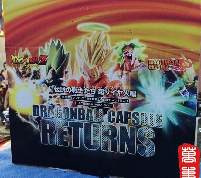 figure dragon ball goku broly gohan vegeta dragonball gashapon toys z action juguete 8pcs/set - Hello Shop store