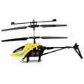 Yellow Shatter Resistant Radio Remote Control Aircraft 2 5CH I R Quadcopter RC Helicopter Kids Gifts