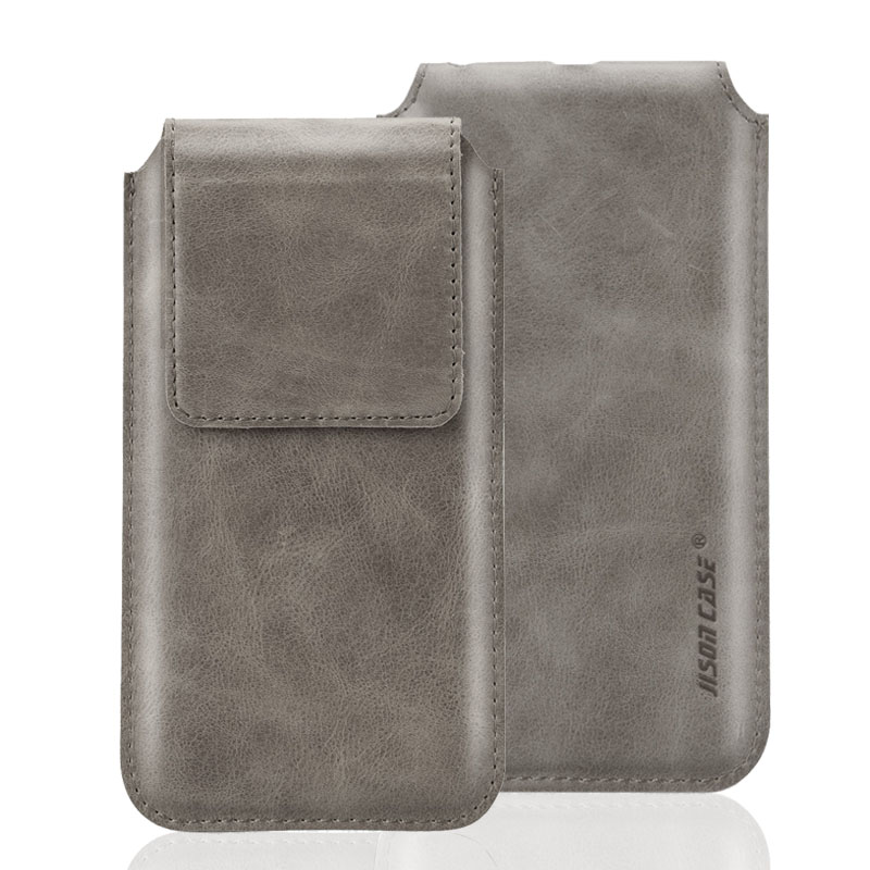 Jisoncase Sleeve Bag Case iPhone 6 / 6S 4.7'' Genuine Leather Magnetic Closure Carrying Pouch Cover - Shenzhen B&C Electronic Accessories Co.,LTD store