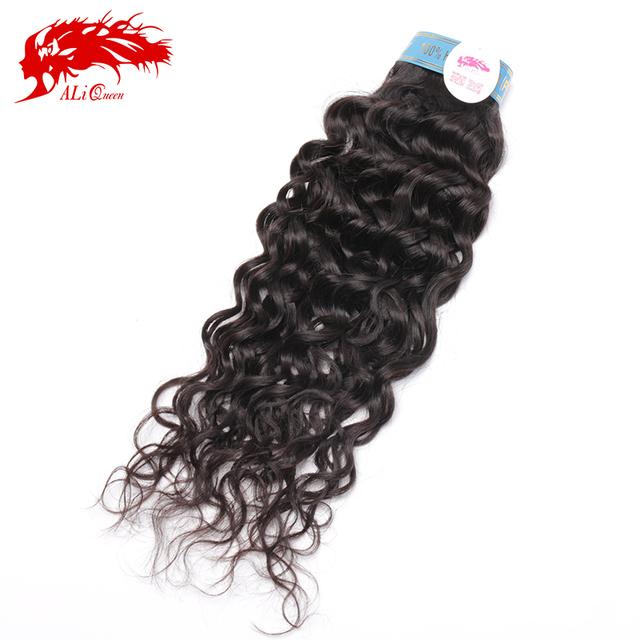 "Top supplier hot selling virgin peruvian hair extensions 1pc lot peruvian virgin hair franch curly(water wave) 14""-24"""