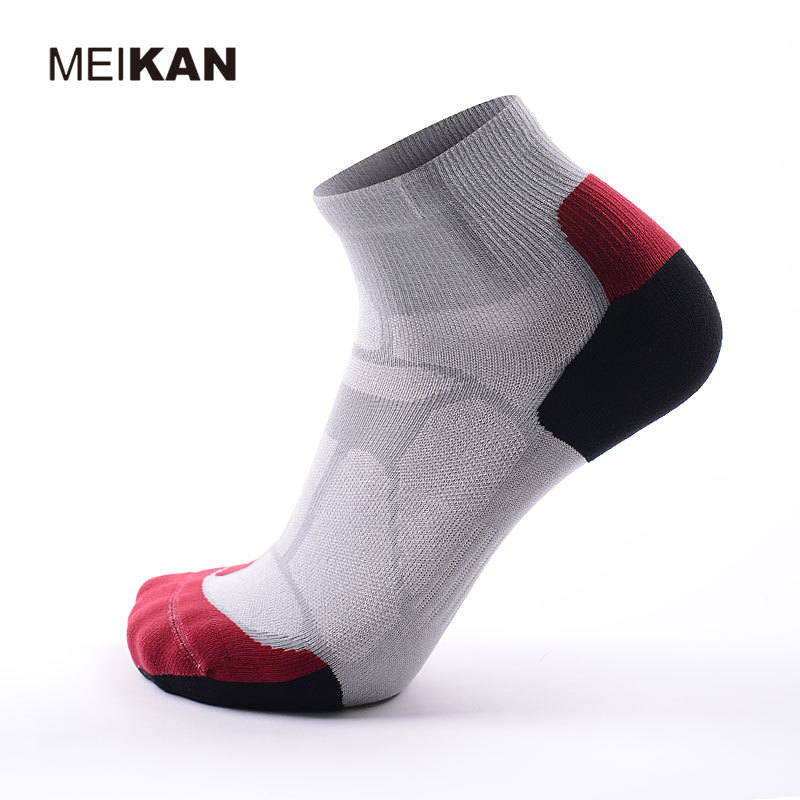 Running Socks Men Cotton MEIKAN Brand Sport Sokken Max Grey Socks Professional Parkour Coolmax Sox Meias Calcetines Deporte(China (Mainland))