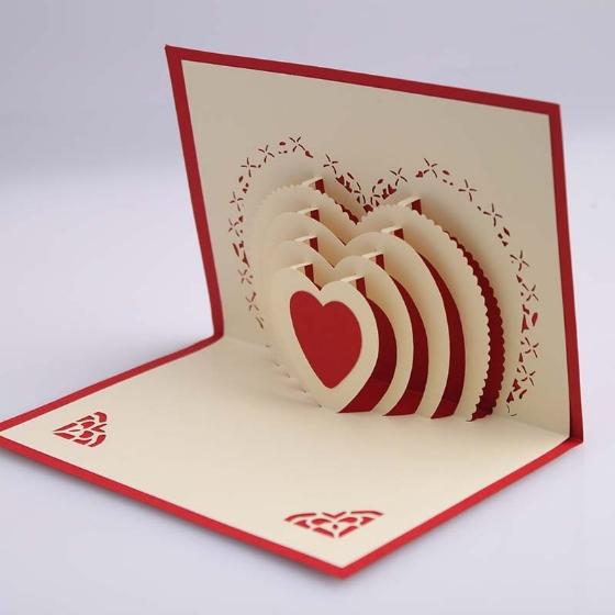 How To Make Homemade Pop Up Valentine Cards Valentine Gift – How to Make Pop Up Valentine Cards