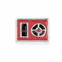 Free shipping! (FH171)MP3 Player Floating Charm fits Lockets(China (Mainland))