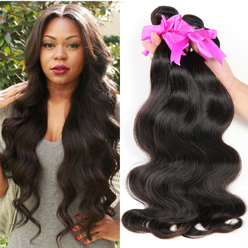 6A Brazilian Virgin Hair 4pcs Body Wave  Bundles 100% Unprocessed Human Hair Bestselling Virgin Brazilian Hair Extension <br><br>Aliexpress
