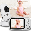 Fetal Doppler video nanny 3 2 inch LCD IR Night vision 2 way talk 8 lullabies