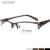 Fashion Lady Hollow Design Half Frame Brown/Grey/Black Color Eyewear Glasses Optical Frames SM4022
