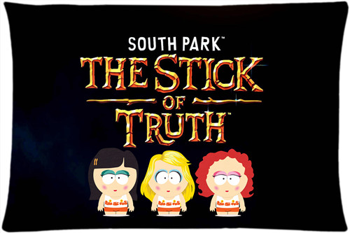2016 New South park Pillow Case 16x24 Inch Comfortable the best gift for your family High Quality Free Shipping V5(China (Mainland))