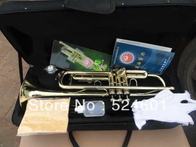The xinghai XT-120 surface paint gold small b instrument for beginners Bb trumpet<br><br>Aliexpress