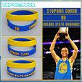 2pcs set Silicone Wristband Bracelet Bangle Basketball Star Stephen Curry James Kobe Jordan Power Bands