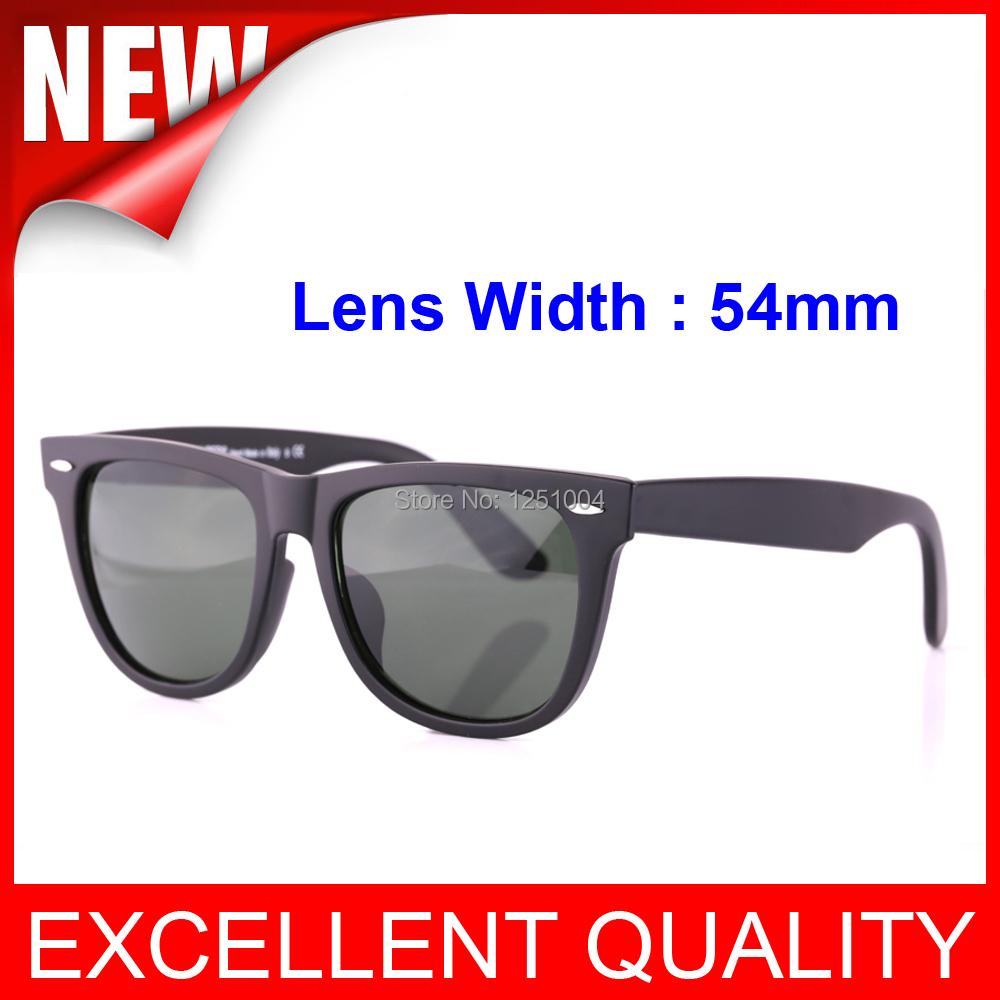 New Brand Classic Vintage Unisex Wayfarer Men Women 2140 Sunglasses Designer ARRIVALS Glasses Original Case Box 54mm glass Lens(China (Mainland))