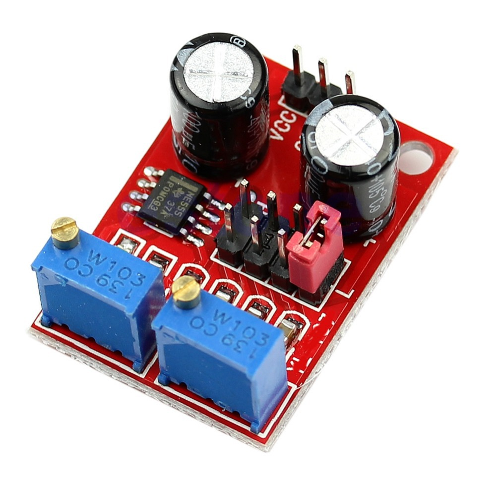 C18 Free Shipping 3pcs/lot NE555 Frequency Adjustable Module Duty Cycle Square Wave Stepper Motor Driver(China (Mainland))