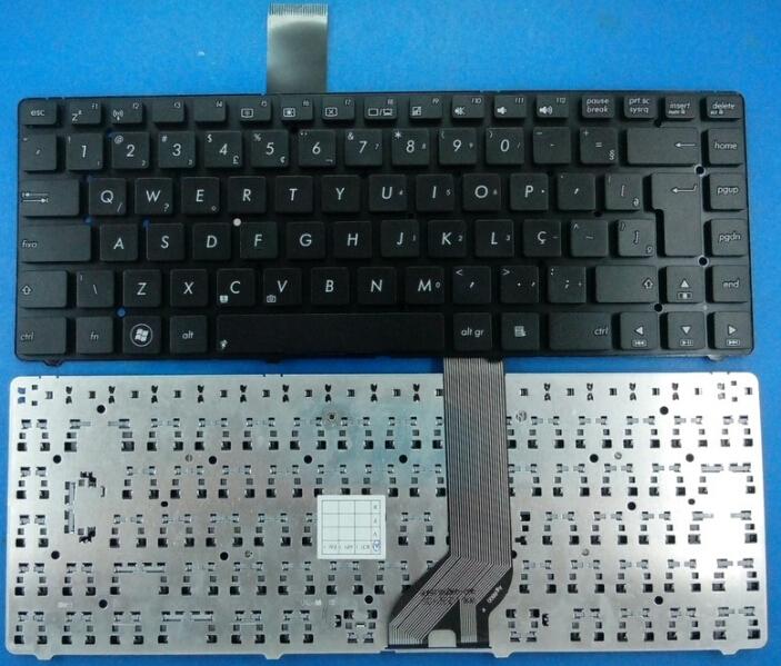 New BR keyboard for ASUS K45A K45 A45 K45VD K45VJ K45VM K45VS AK46 E45 K45V keyboard Brazil Layout (UK/FR/BR/GR replacing)(China (Mainland))