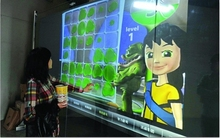 transparent 10 points 52″ interactive touch foil screen/touch film