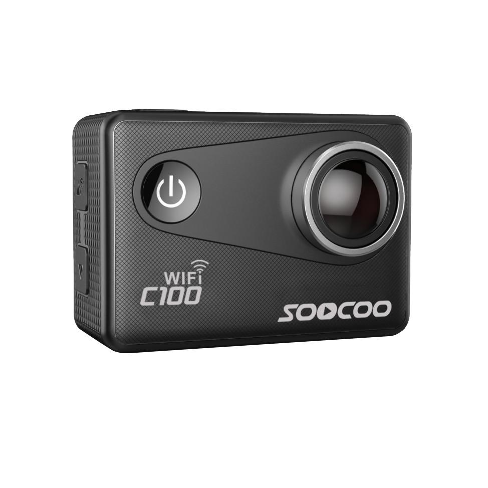 ถูก SOOCOO C100/S100การกระทำกล้อง4พันWifiในตัวGyroกับจีพีเอสส่วนต่อขยาย(จีพีเอสรุ่นไม่รวม)