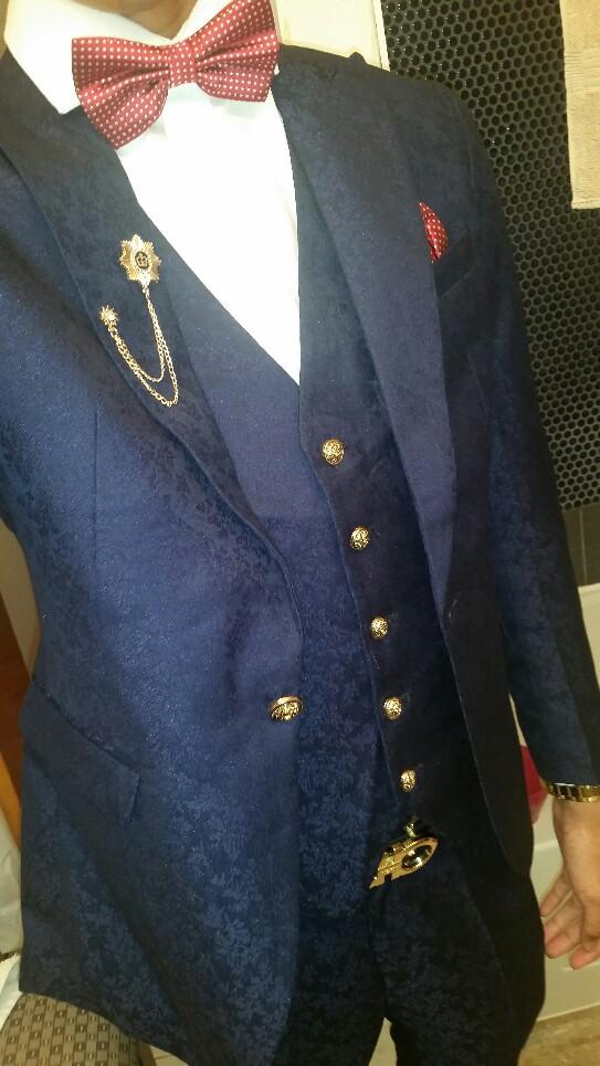 HTB1BjNGPVXXXXX0aXXXq6xXFXXXj - MAUCHLEY Prom Mens Suit With Pants Burgundy Floral Jacquard Wedding Suits for Men Slim Fit 3 Pieces / Set (Jacket+Vest+Pants)