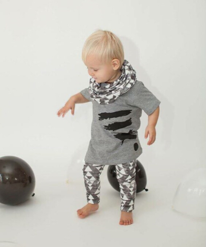 2015 New Style Baby Boy Clothes Short Sleeve T Shirt
