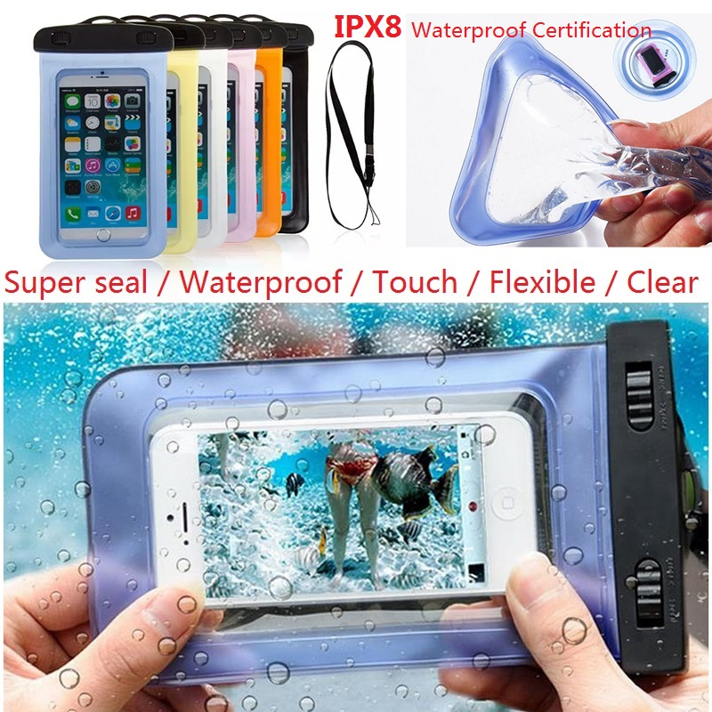 Mobile Phone Waterproof Bag Case Cover for Samsung Galaxy S3/S4/S5/S5 Mini/S6 S7 S6 edge J3 J5 J7 Water proof Phone Accessories(China (Mainland))