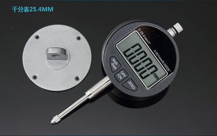 "Accuracy 0.001mm Electronic Micrometer 25.4mm/1"" Digital Micrometro micron Indicator Gauge Meter With Retail Box Freeshipping(China (Mainland))"