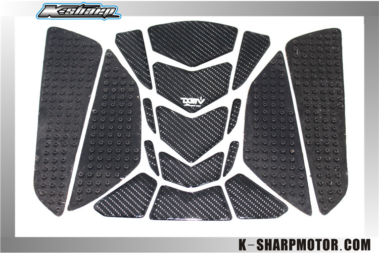 Freeshipping! k-sharp Carbon 3D ADESIVI Sticker Decal Emblem Protection Tank Pad Gas Cap Fit YAMAHA YZF R6 /R1 V-MAX FZ6FAZER(China (Mainland))