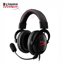 Gaming Headset Kingston HyperX Cloud Core Black Auriculares Headphones for PC Tablet mobile phone earphones With a microphone(China (Mainland))