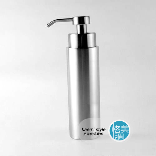6*22.5CM Stainless steel soap dispenser lotion bottle hydraulic bottle shampoo bottle hand sanitizer bottle foam soap dispenser