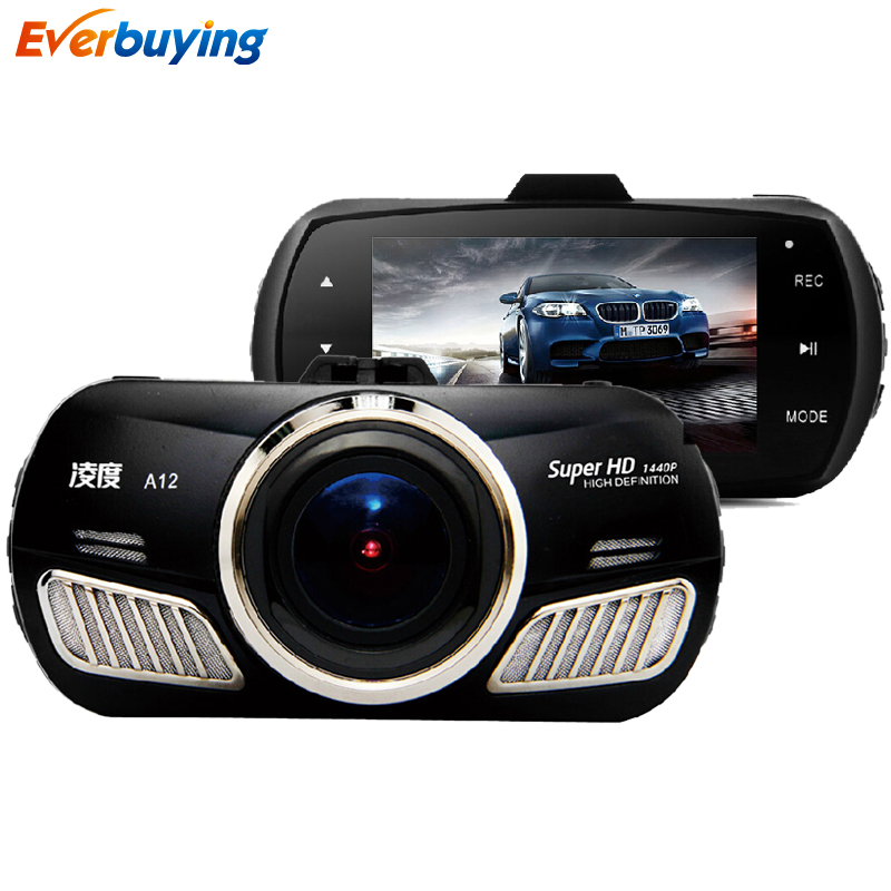 2015 New TOP Ambarella A12 car camera full hd 2560 1440P DVR with gps dash cam