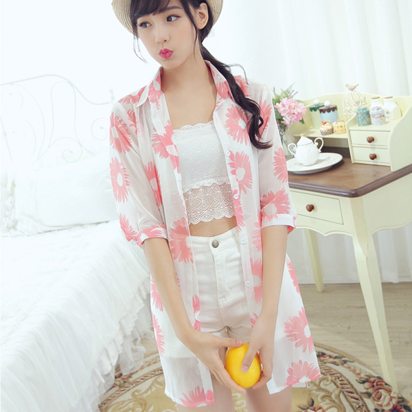 shirt buyer Picture - More Detailed Picture about 2015 Chiffon ...