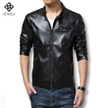 2016 New Men Winter Jacket Brand Men Jacket Fashion Slim Fit Casual Men Clothing Leather Coats