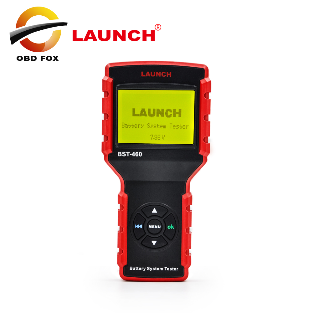 100% Original Launch BST-460 Battery System Tester suitable for 8V&12V battery system and 12V&24V starting/charging BST 460(China (Mainland))