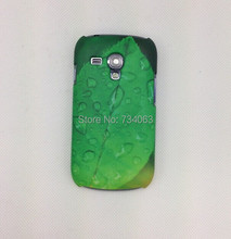 DHL Free Shipping 3D Sublimation Case Cover For Samsung Galaxy S3 mini i8190 Matte Glossy Skin Cases Wholesale 2ZTS