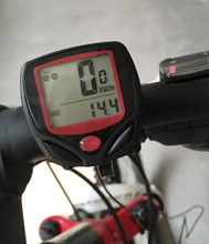 Bicycle Computer Leisure 14-Functions Waterproof Cycling Odometer Speedometer With LCD Display Bike Computers MBI-67(China (Mainland))