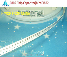 Buy  (200pcs/lot) (SMD Capacitors0805) SMD Multilayer Ceramic Capacitor 8.2nF, 822 TOL:10%, X7R Chip Capacitors C52 for $1.33 in AliExpress store