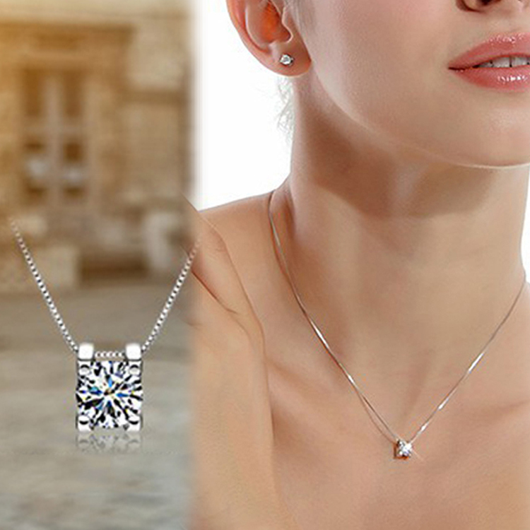 Women Fashion Rhinestone Pendant Necklace Without Chain Silver Plated Jewelry Accessories Drop Shipping NL-0379-WT(China (Mainland))