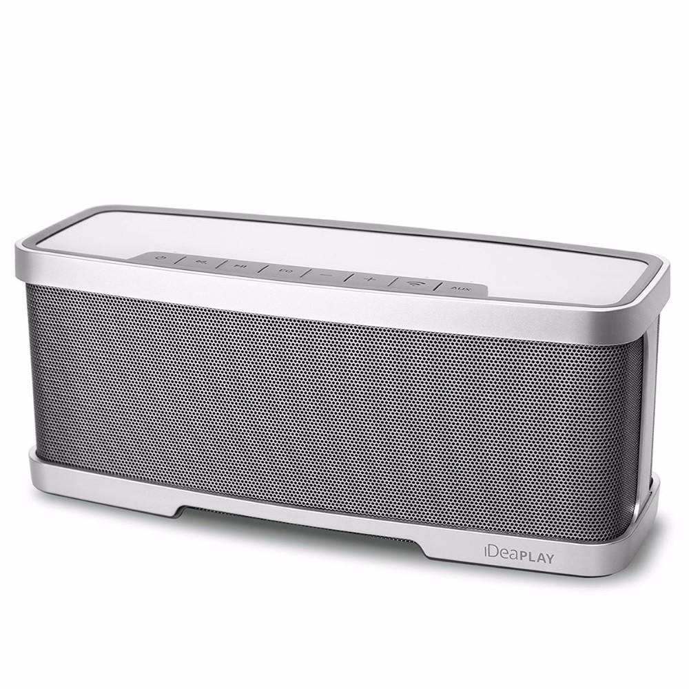 iDeaPlay W200 Wireless HiFi Bluetooth Speaker 20W Bass Stereo Premium Audio from 10W Driver 10W Subwoofer Dual Passive Radiator
