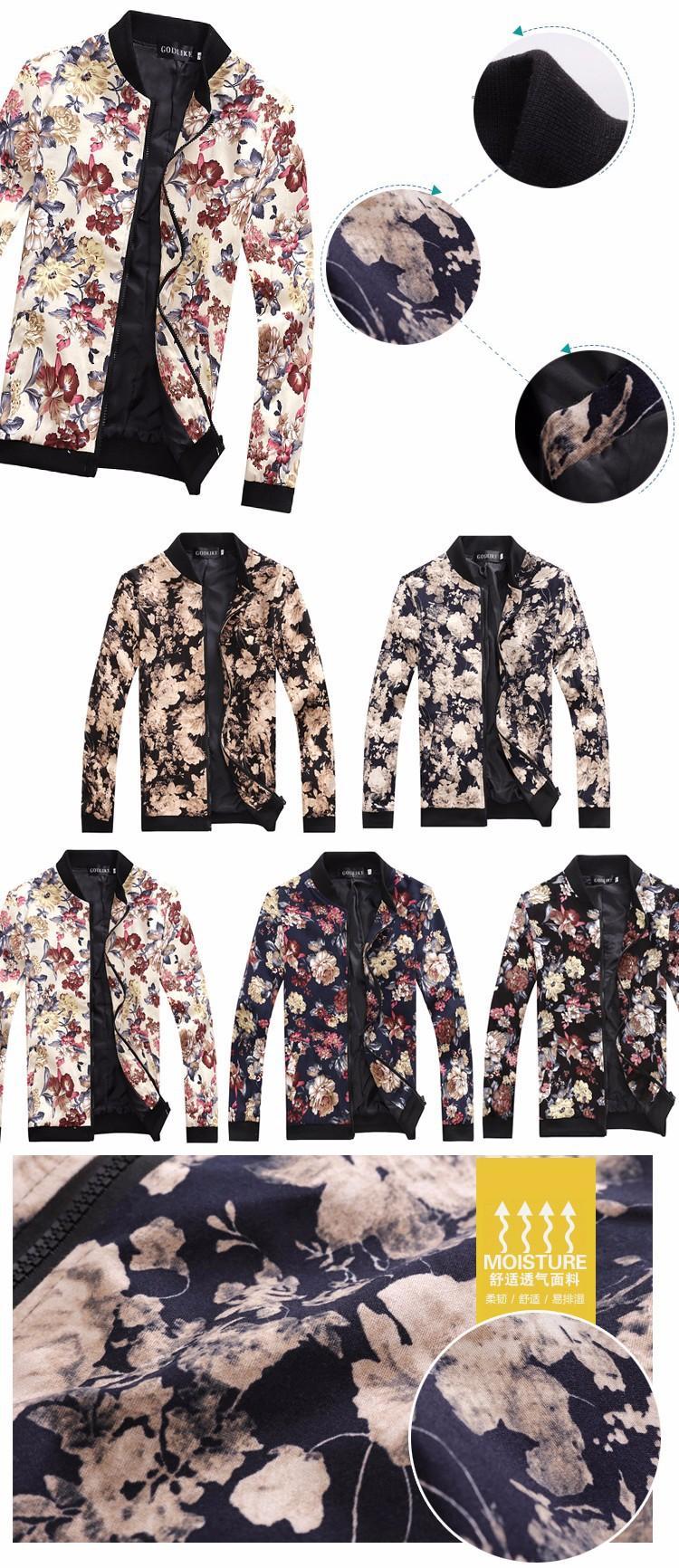HTB1BowzLXXXXXcoXFXXq6xXFXXXA - 2015 brand Men's Slim jacquard jacket coat autumn fashion leisure wild cardigan stylish floral jacket men